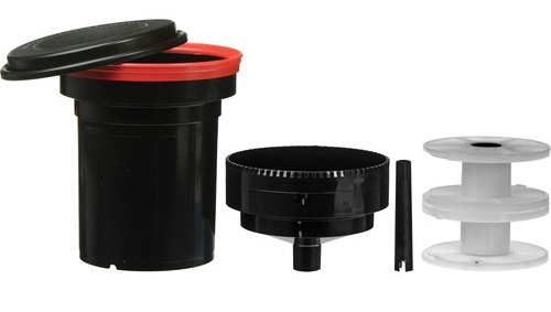 Paterson Universal tank and 2 reels-#115 (Discontinued by Manufacturer)