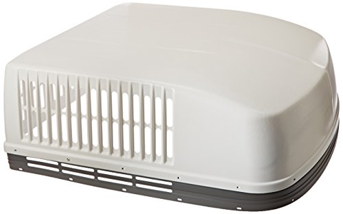 Dometic 3309518.003 Brisk Replacement Shroud - Polar White with Gray Band