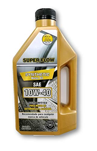 SUPER FLOW SYNTHETIC MOTOR OIL SAE 10W40